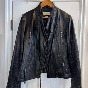EUC Micheal Kors leather jacket